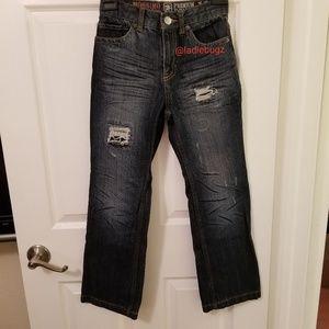 Mossimo Supply Premium Denim Distressed Jeans